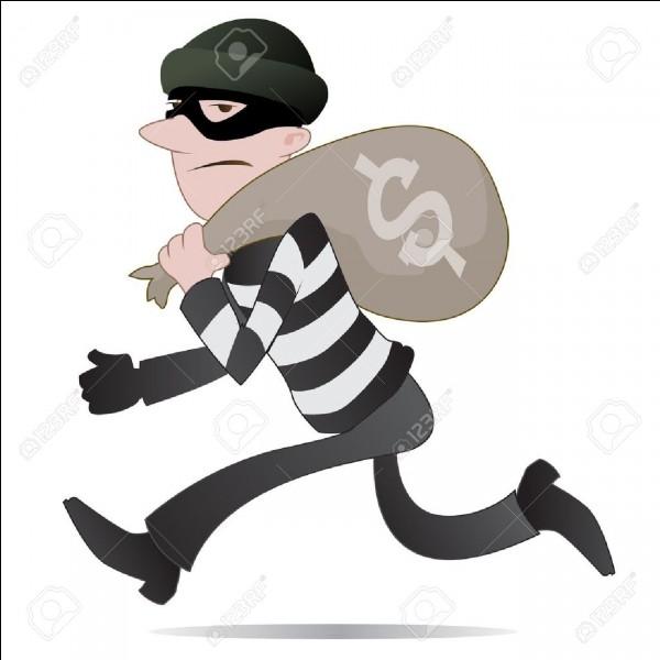 Tu surprends un voleur ! Que fais-tu ?