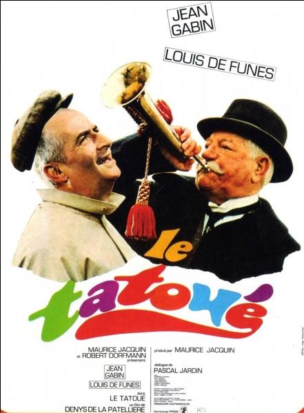 """Dans le film """"Le Tatoué"""" de 1968, quel célèbre peintre italien est censé avoir tatoué le dos de Jean Gabin ?"""