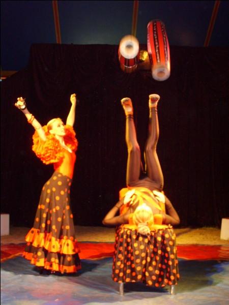 Quel nom spécifique désigne l'art de jongler, allongé sur son dos ?