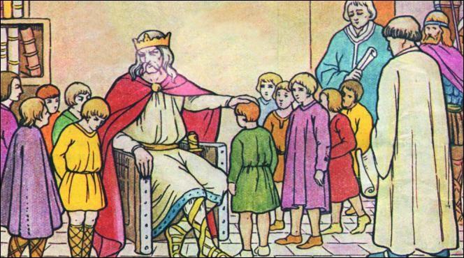 C'est Charlemagne qui a inventé l'école.