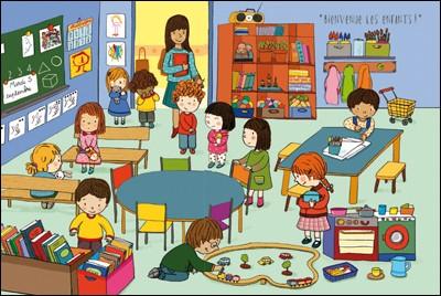 En France, l'école maternelle est gratuite et facultative.