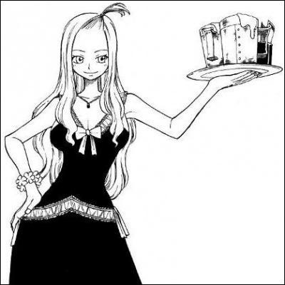 Qui est cette fille qui travaille dans Fairy Tail ?
