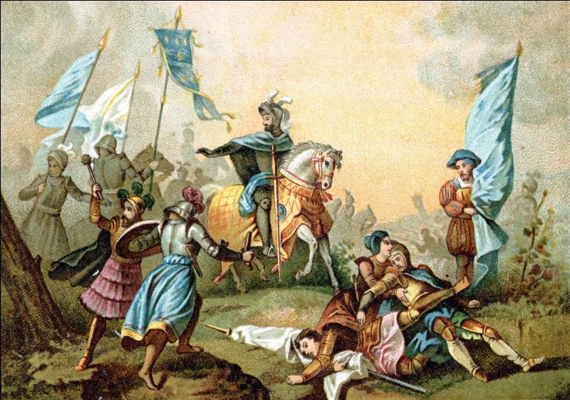 Il livra la bataille de Marignan en...