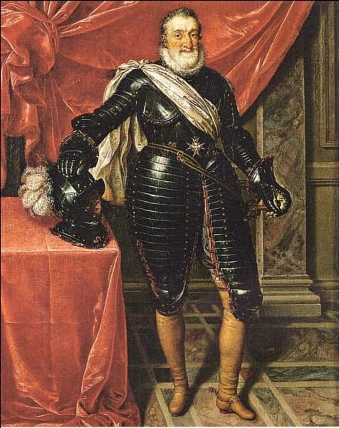 Henri IV était roi de France et de...