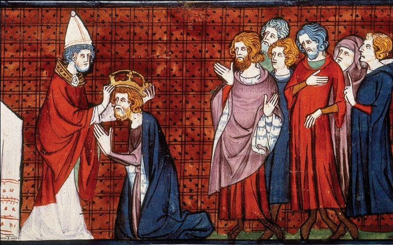 En quelle année Charlemagne a-t-il été couronné ?