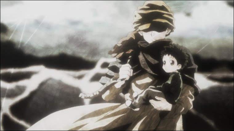 Comment nommera-t-il l'ours-renard qu'il adopte après sa rencontre avec Kaito au début du manga ?