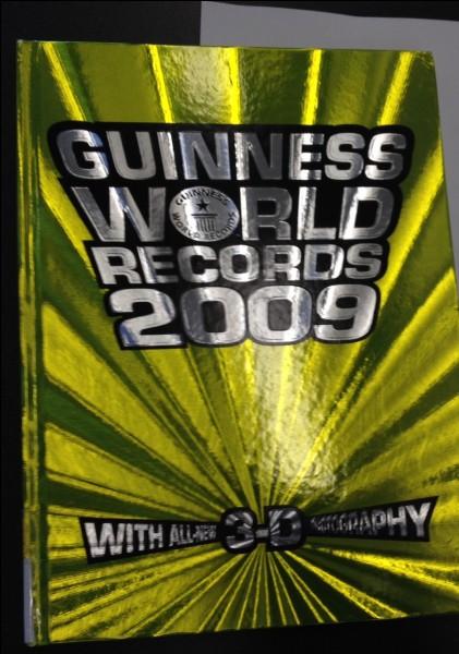 En quelle année sont-ils entrés au Guiness Book ?