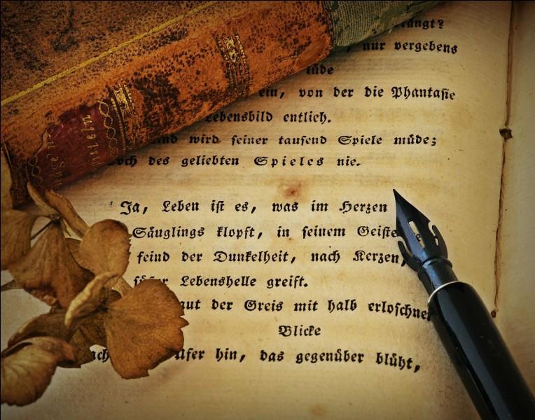 """Poésie - Qui a écrit le poème """"Fragment"""" ?"""