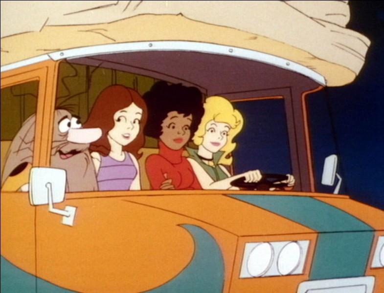 """Dessin animé - Comment s'appellent les trois amies de """"Capitaine Caverne"""" ?"""