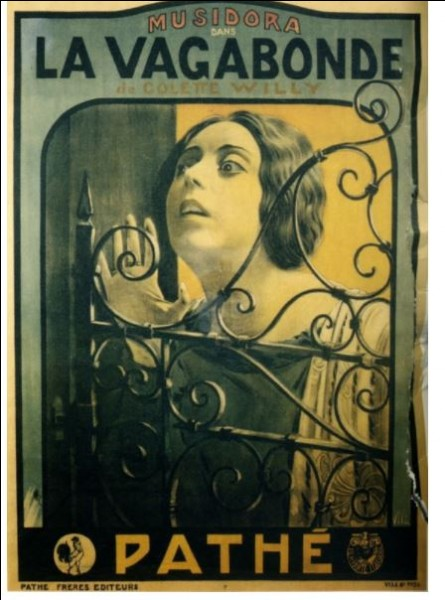 Star du muet, pionnière du cinéma, Musidora fut aussi réalisatrice. Elle adapta, en 1916 et 1917, deux romans de Colette. Quelles sont ces réalisations ?