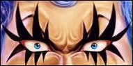 Travesti(e) et... spécial(e). Quel personnage est le propriétaire de ces yeux ?