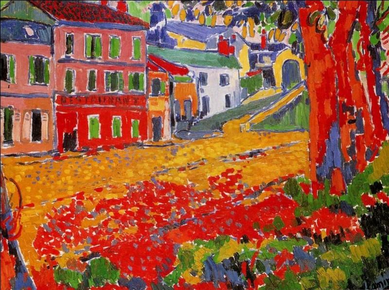 La journée est presque terminée, il vous reste un cours d'art plastique. Quel mouvement pictural a inspiré le peintre Henry Matisse ?