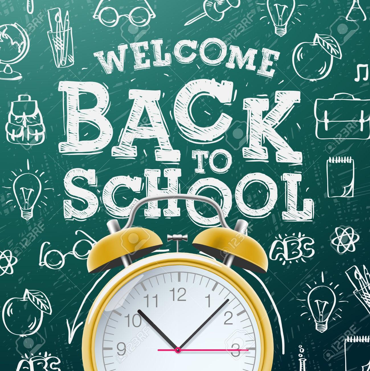 C'est l'heure de retourner à l'école !