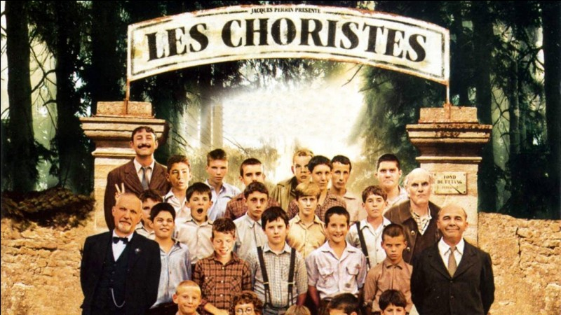 """Quelle est la particularité du film """"Les Choristes"""" ?"""