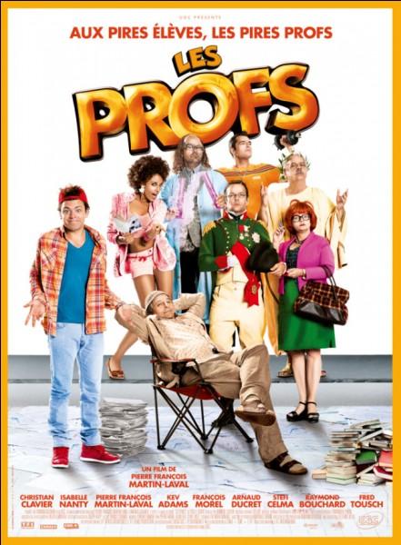 """Au début du film """"Les profs"""", combien d'élèves ont leur bac au lycée """"Jules Ferry"""" ?"""