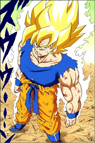 Comment Goku s'est-il transformé en Super Saiyan ?