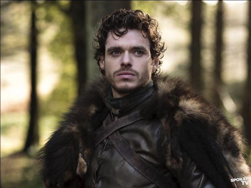 Qui implora Robb Stark d'aller à la capitale pour ployer le genou au roi Joffrey Baratheon ?