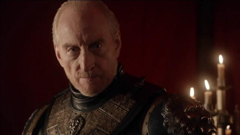 Quelle mission Lord Tywin Lannister donne-t-il à Ser Gregor Clegane quand il apprend que son fils Tyrion est retenu prisonnier par Catelyn Stark ?