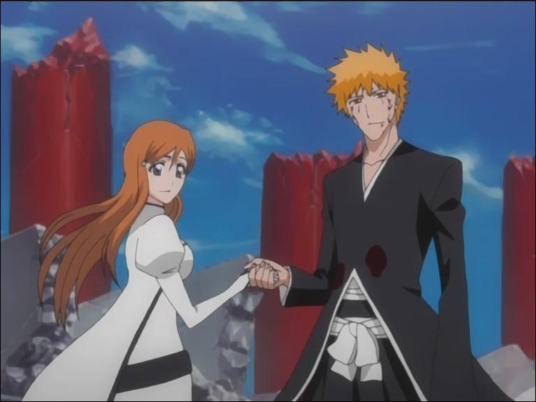 Personnages de mangas : les cheveux orange