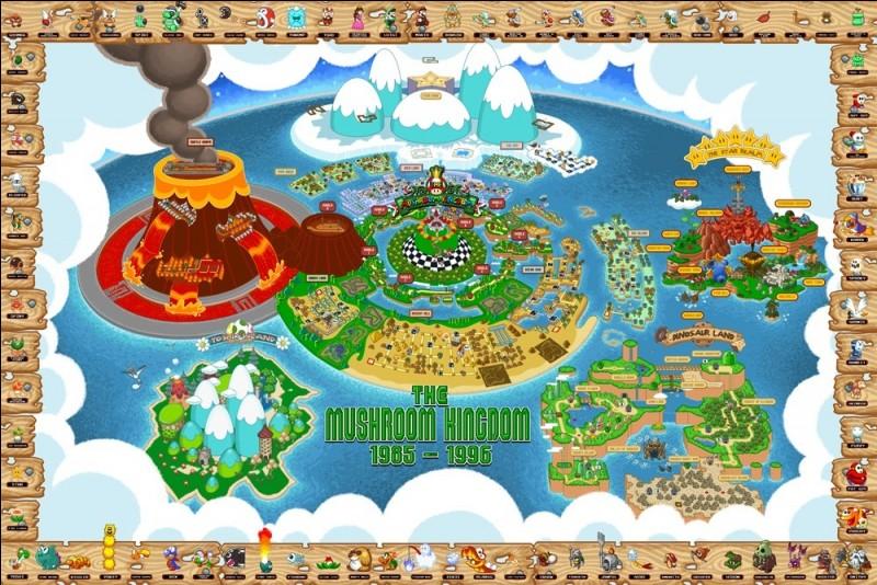 Au royaume champignon, quel bâtiment préfères-tu ?