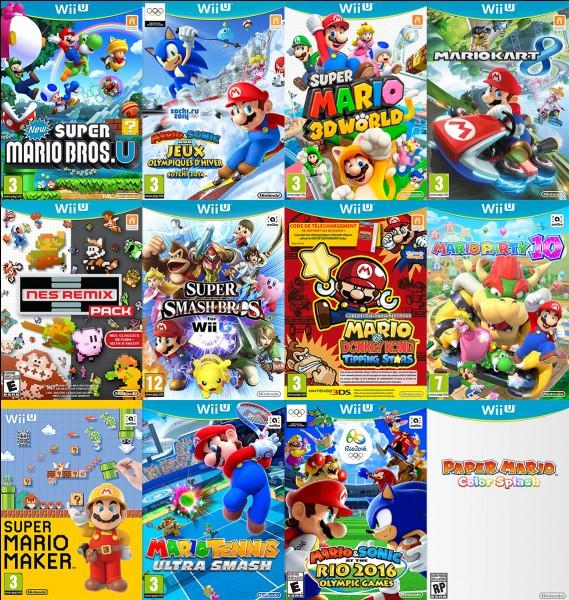 Quelle série de jeux préfères-tu ?