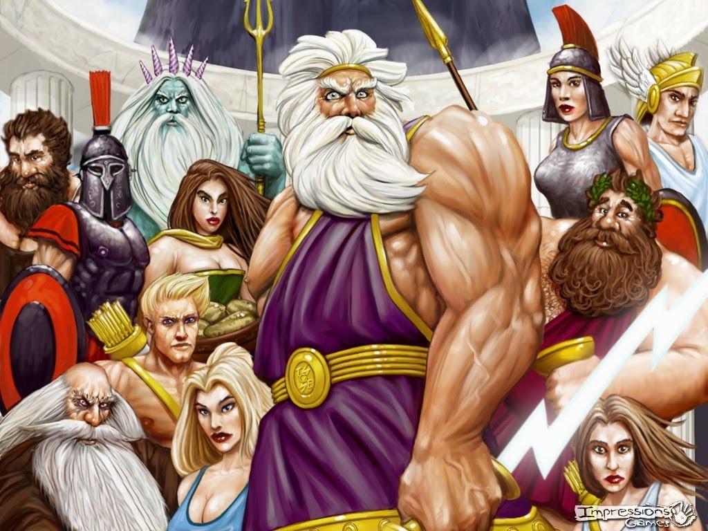 Les dieux grecs