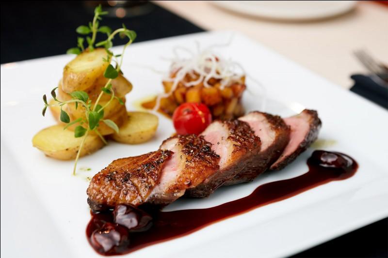 Lequel de ces repas choisirais-tu pour un souper au restaurant ?