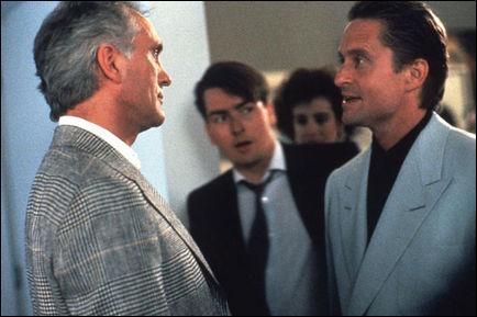 Michael Douglas, mais dans lequel de ces trois films ?