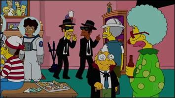"""En qui Lenny et Carl sont-ils déguisés pour ce """"Simpson Horrow Show XX"""" ?"""