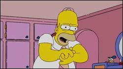 Que dit Homer à ce moment ?