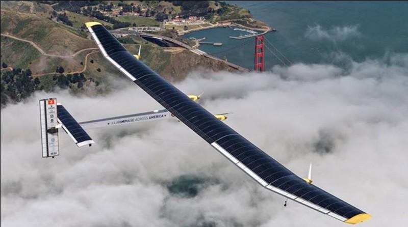 Qui est à l'origine du projet 'Solar Impulse' (avion solaire) ?