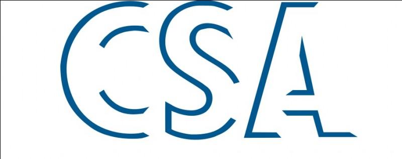 Que signifie le sigle CSA ?