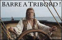 Qui met la barre à tribord ?