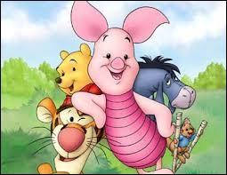 De qui Porcinet est-il le meilleur ami ?