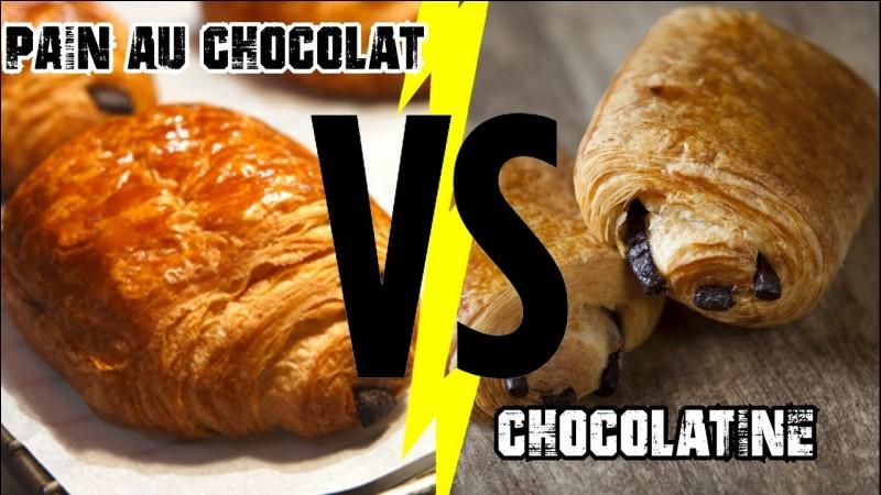 Dis-tu pain au chocolat ou chocolatine ?