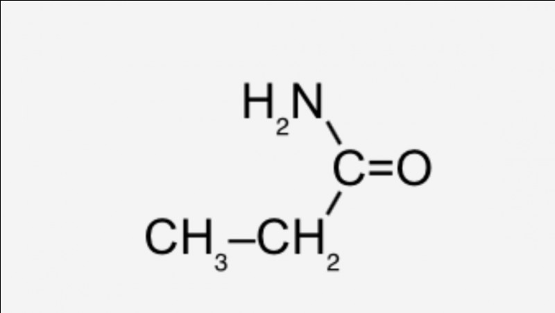 Cette molécule appartient à la famille :