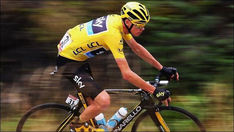 Quelle équipe a mis en difficulté Froome dans le col de Peyra Taillade sur la 15ème étape ?