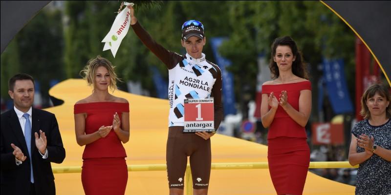 Qui a reçu le prix du ''Super-Combatif'' à la fin de ce Tour de France ?