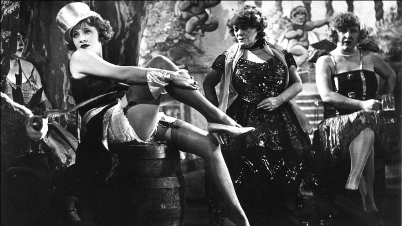 Et enfin, terminons avec un film allemand de 1930 réalisé par Josef von Sternberg. Quel en est le titre ?