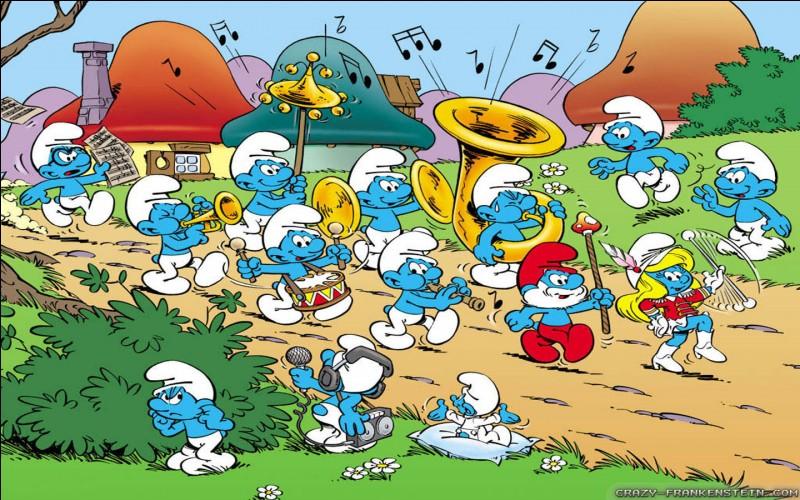 """Commençons avec des petits êtres bleus. Qui a écrit """"Les Schtroumpfs"""" ?"""