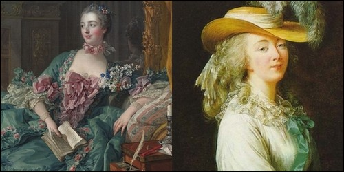 Qu'ont en commun Madame de Pompadour et Madame du Barry ?