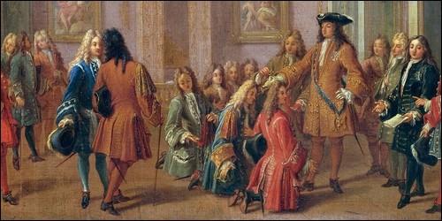 Comment nommait-on l'entourage d'un roi ?