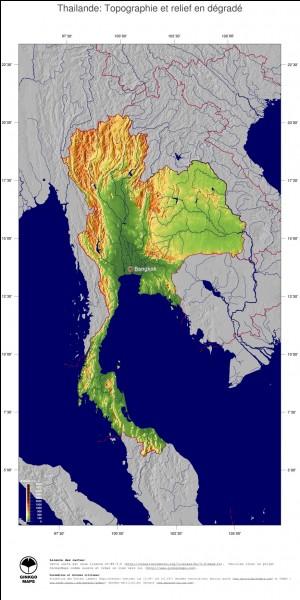 Quel pays ne borde pas la Thaïlande ?