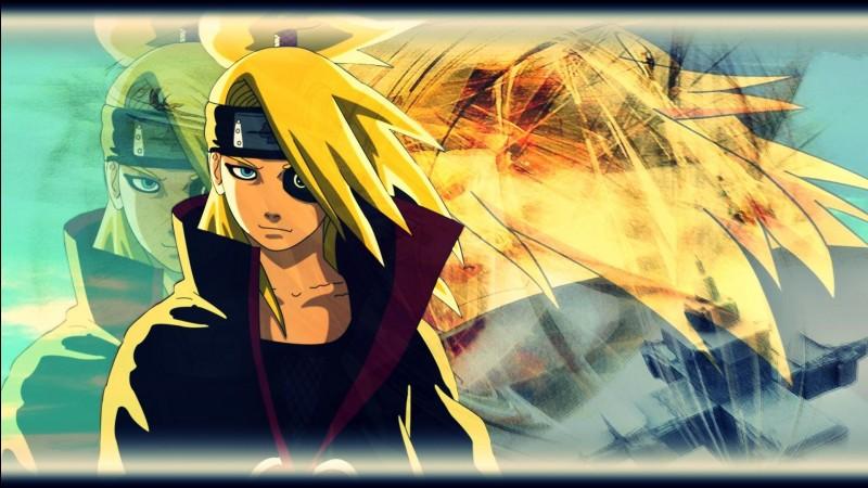 """Dans """"Naruto Shippuden"""", qui a privé Deidara de ses deux bras ?"""
