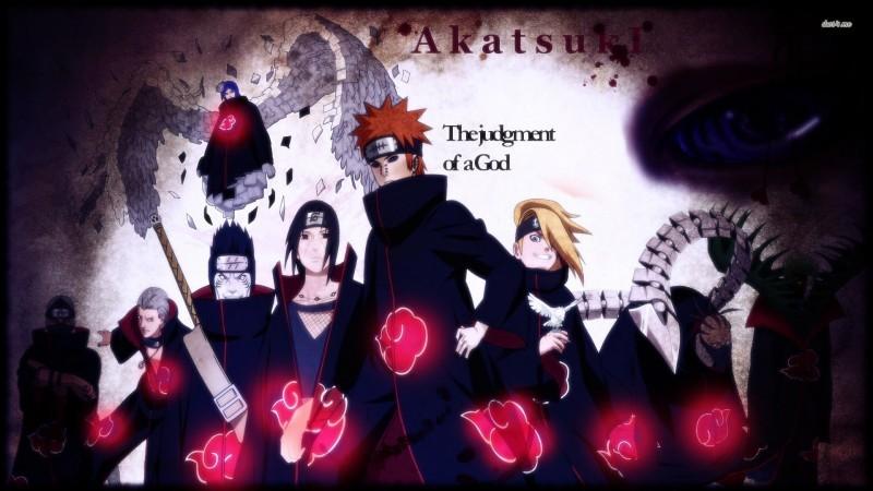 L'Akatsuki dans 'Naruto'
