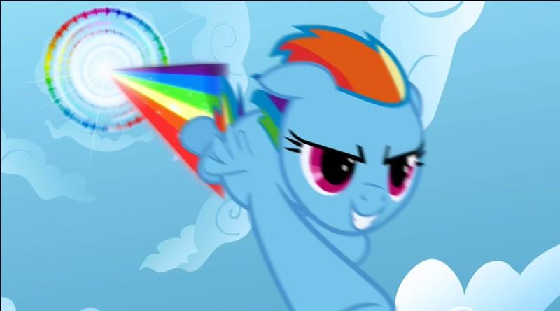 Comment s'appelle la camarade de vol de Rainbow Dash dans l'épisode 7 de la saison 3 ?