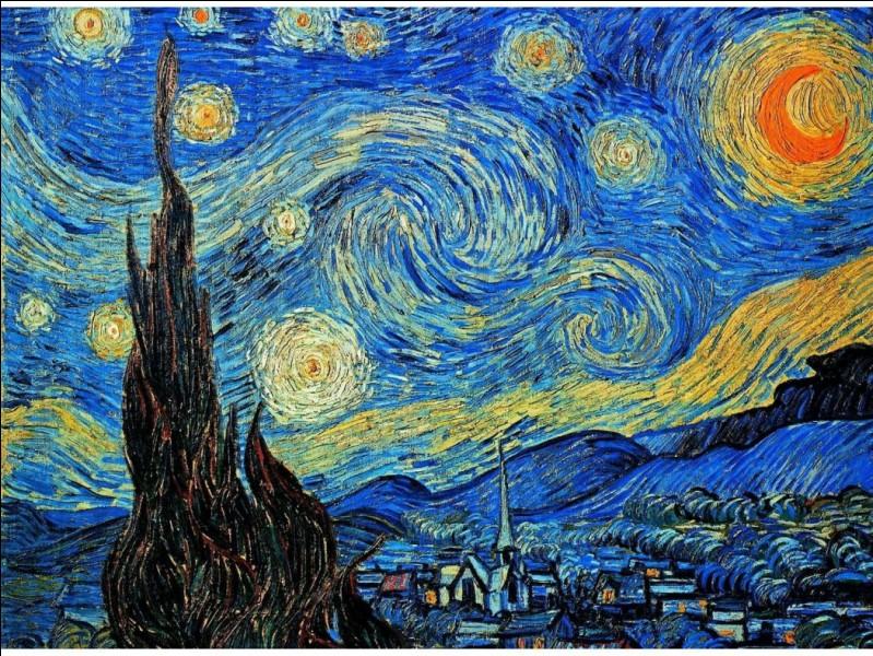 """Par qui le tableau """"La Nuit étoilée"""" a-t-il été peint ?"""