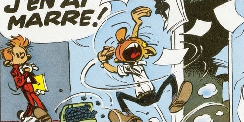 Spirou disparaît bien avant Fantasio de la bande dessinée.