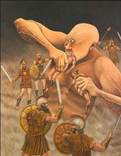 Où le cyclope Polyphème dévora deux compagnons d'Ulysse ?