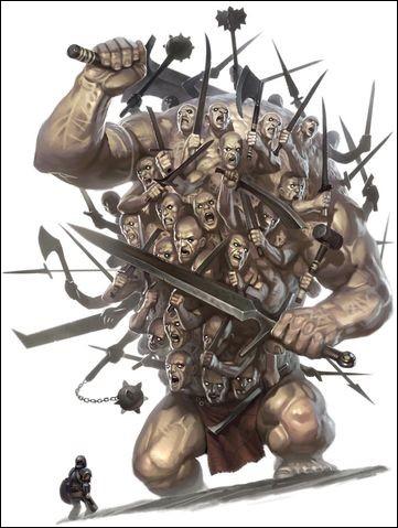 Cet Hécatonchires sauva Zeus en terrorisant Héra, Athéna et Poséidon lorsqu'ils voulurent l'enchainer. Qui est-il ?